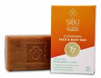 SIBU Face and Body Bar, Sea Buckthorn Oil moisturizes and repairs skin.itchy eczema, dry and problem skin